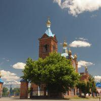 Покровская церковь, вид со стороны Дона, Константиновск