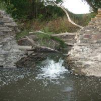 Breaking of a dam, Куйбышево