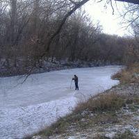 Миус зимой, Куйбышево