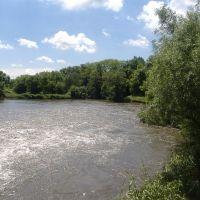 Река весной., Куйбышево