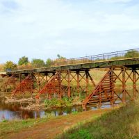 Мост в Матвеево Кургане, Матвеев Курган