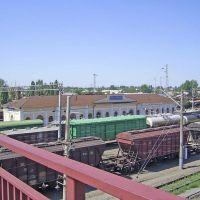 Миллерово - ж/д вокзал с моста (2008), Миллерово