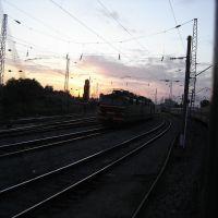 Millerovo. Passing train station / Миллерово. Проезжая ж.д. станцию, Миллерово