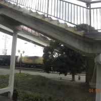 пешеходный мост, Миллерово