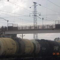 мост через жд, Миллерово