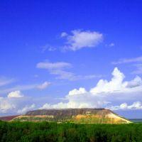 Novoshakhtinsk, mine hill, Новошахтинск