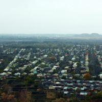 Вид на Новошахтинск с террекона, Новошахтинск