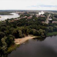 высотный вид со Старого Дона на мкр.ул.Промышленной, Семикаракорск
