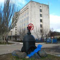 Задвижка.  The pipeline valve., Тарасовский