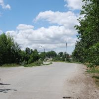 Дорога вдоль пруда, Тацинский