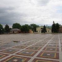 площадь /the central square, Целина