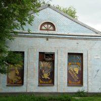 старая пельменная / the old cafe, Целина