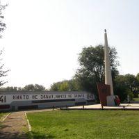 Обелиск  / the Obelisk, Целина
