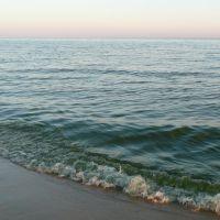 Пляж в сентябре, Цимлянск