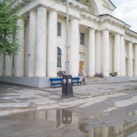 На площади, Цимлянск