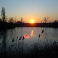 Закат на озере, Чертково