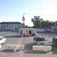Chertkovo station forecourt, Чертково