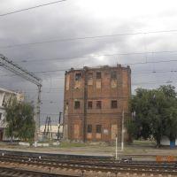 старое здание /водонапорная башня/, Чертково