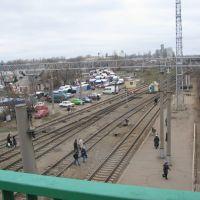 массовое нарушение границы | mob break Ukrainian - Russian border  :), Чертково
