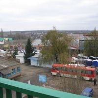 автостанция и рынок в Меловом | bus station and a marketplace in Melovoye, Ukraine just at the state border, Чертково