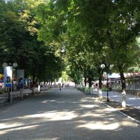 в парке, Шахты