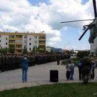 Военный парад, Егорлыкская