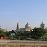Троицкий собор в Гусю-Железном (от автостанции), Гусь Железный