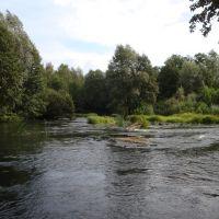 Перекат на реке Гусь, Гусь Железный