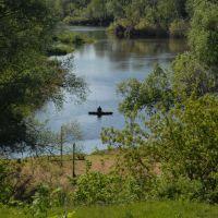 Рыбалка на реке Гусь, Гусь Железный