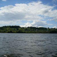 Вид Елатьмы с правого берега, Елатьма