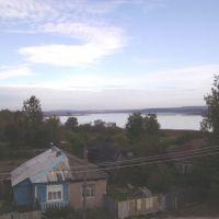 Вид с крыши коммунального хозяйства, Ермишь