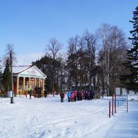 открытие лыжных соревнований, Ермишь