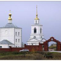 Свято-Димитриевский монастырь - поселок Заречный - St. Demetrius Monastery - a village Zarechnyj, Заречный