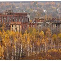 Руины завода в Заречном - Ruines of plant in Zarechny, Заречный