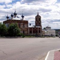 Площадь с Успенским собором/The area of the Assumption Cathedral, Касимов
