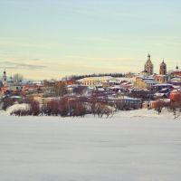 Касимов/вид с другого берега Оки, Касимов