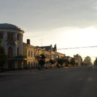 Касимов.  Советская улица на рассвете., Касимов