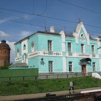 Вокзал в Милославском, Милославское