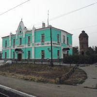 Вокзал и водокачка в Милославском, Милославское