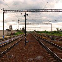 Железнодорожные пути в Милославском (2011 г.), Милославское