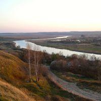 п.Пронск. Вечер (октябрь 2010 г.), Пронск