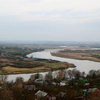 п.Пронск. Вид с возвышенности (октябрь 2010)., Пронск