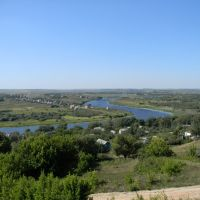 вид сверху, Пронск