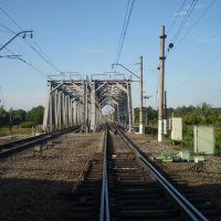 мост р. Вожа в сторону Москвы, Рыбное