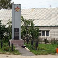 Ряжск. Памятник на улице Серебрякова. (Ryazhsk. The monument on the Serebryakova street), Ряжск
