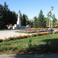Ряжск, памятник Ленину, Ряжск