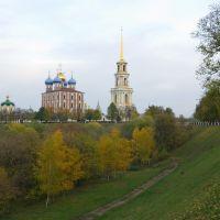 View on Ryazan Kremlin / Вид на рязанский кремль, Рязань