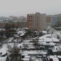Вид из окна. 1 января 2009., Рязань