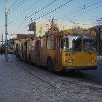 Троллейбус на Радиоакадемии, Рязань