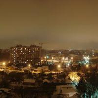 Панорама ночной Рязани., Рязань